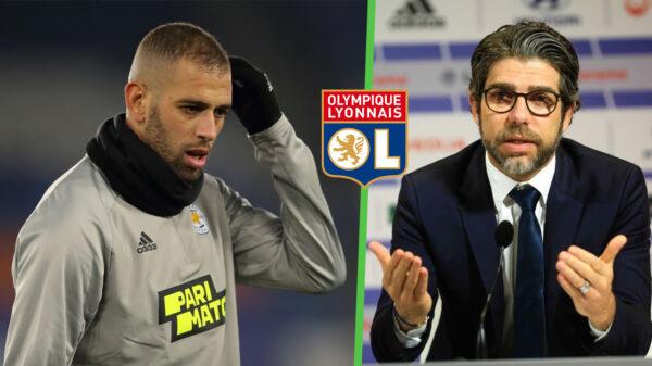 Islam Slimani Juninho Lyon