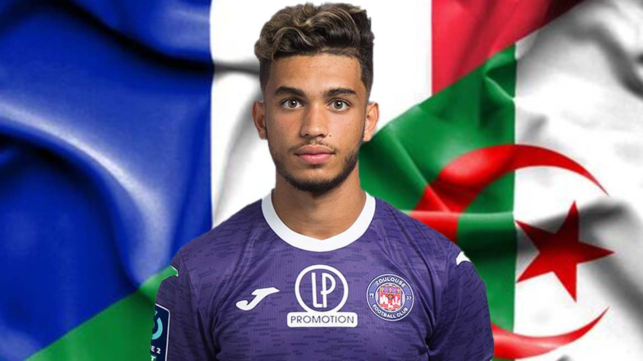 Le joueur franco algerien Adel Taoui