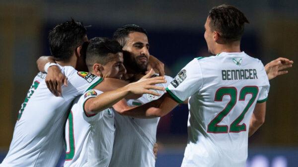 équipe nationale, Mahrez