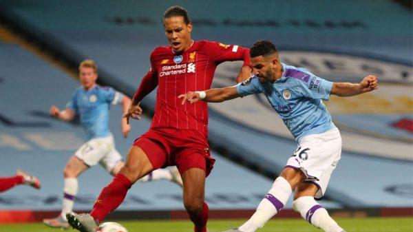 Mahrez Liverpool Manchester City