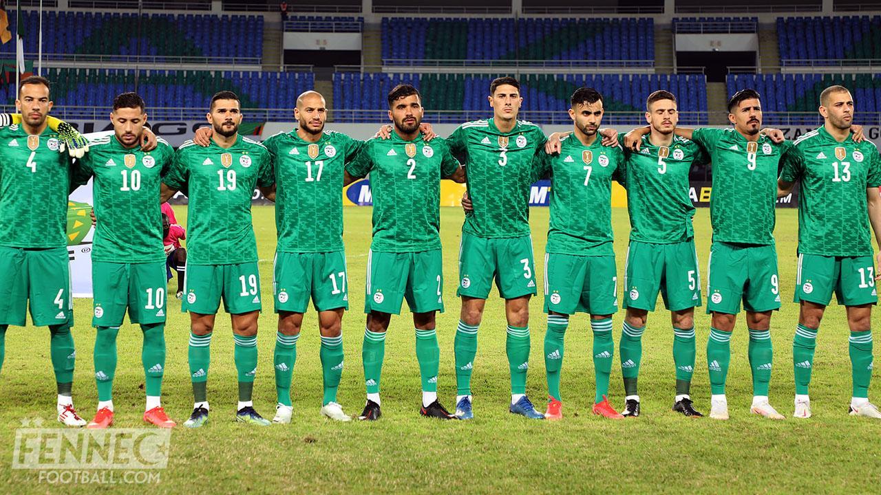 Equipe d'Algérie classement fifa