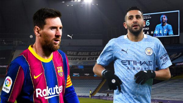 Riyad Mahrez Messi