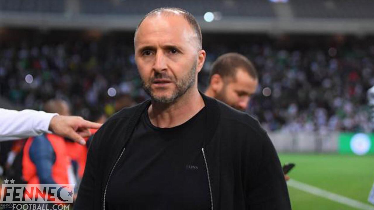 Djamel Belmadi M'Bolhi Algérie
