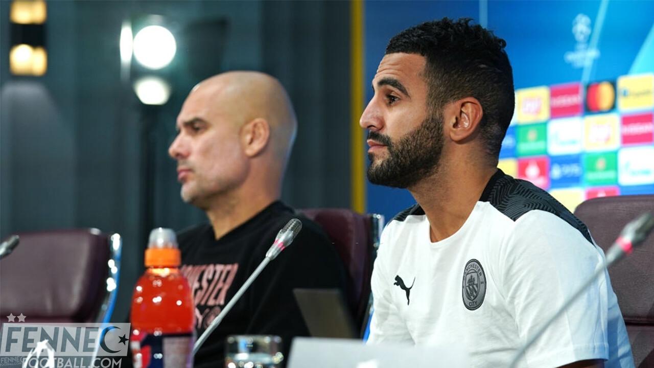 Riyad Mahrez Pep Guardiola City