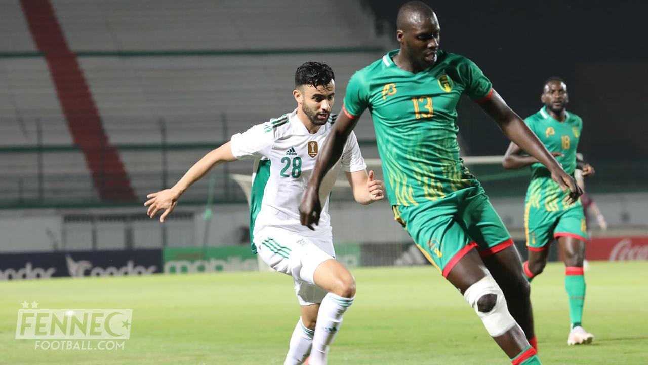 Rachid Ghezzal Algérie Mauritanie
