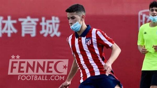 Rayane Belaid Atletico Madrid Algerie