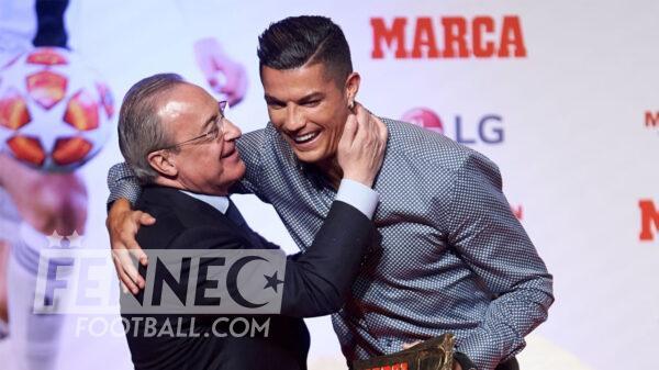 Cristiano Ronaldo Florentino Perez