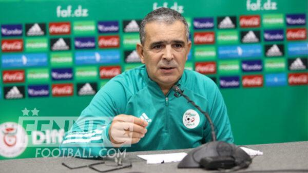 Equipe dAlgerie U20 Mohamed Lacete