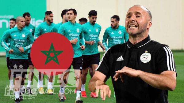 Equipe dAlgerie Maroc