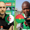 Equipe dAlgerie Burkina Faso