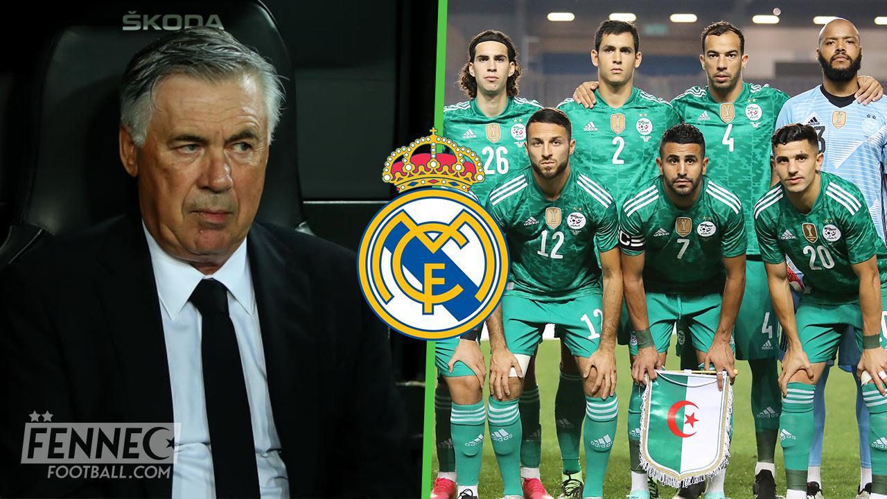 Equipe dAlgerie Real Madrid