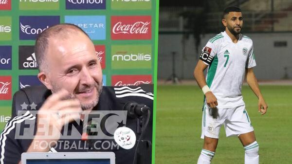 Riyad Mahrez Djamel Belmadi