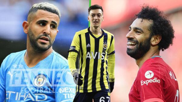 Riyad Mahrez Mohamed Salah