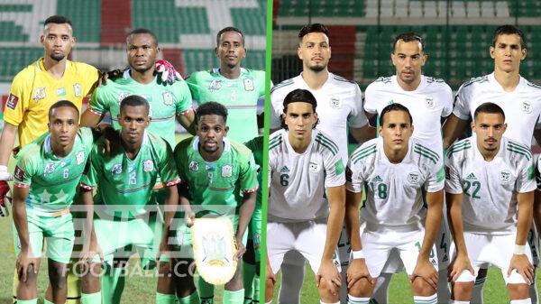 Equipe dAlgerie Djibouti