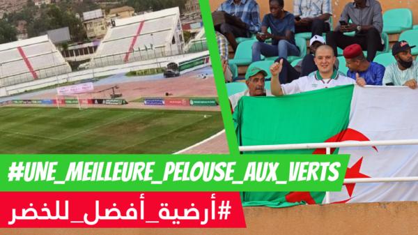 algerie stade pelouse blida